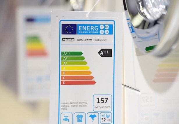 Etichetta energetica lavatrici
