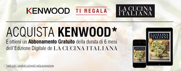 Kenwood ti regala la Cucina Italiana