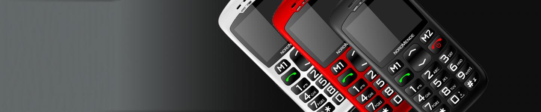 Nuova gamma telefoni senior NORDMENDE