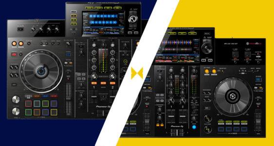 Pioneer DJ XDJ-RX2 Vs XDJ-RR